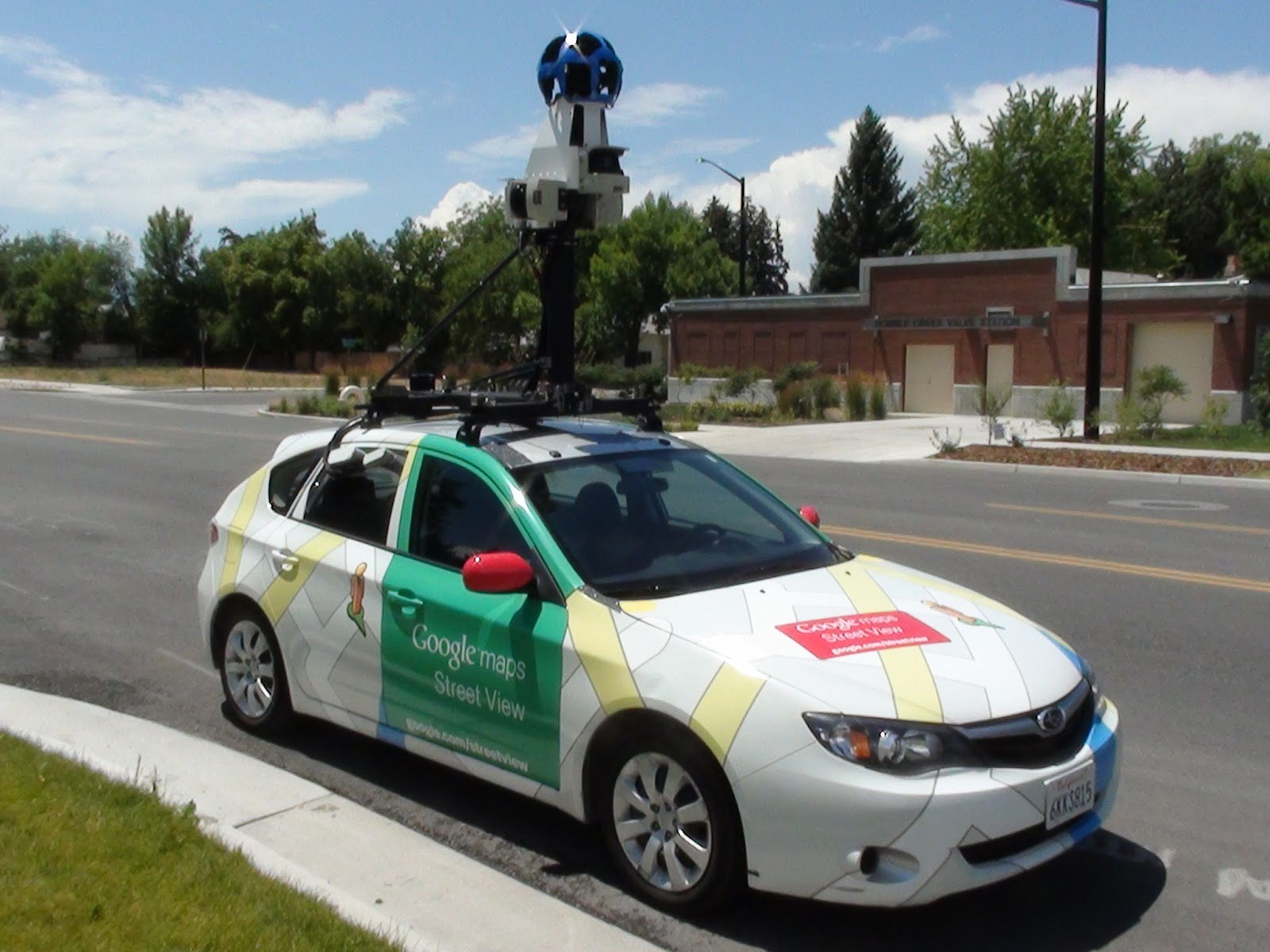 behind the scenes with the google street view car car. Black Bedroom Furniture Sets. Home Design Ideas